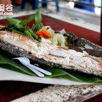 曼谷(Bangkok)大林江水上市場(Taling Chan Floating Market)