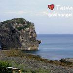 墾丁(Kenting)浮潛玩水海灘 船帆石(Chuanfan Rock)