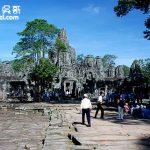 柬普寨(Cambodia)暹粒 吳哥窟巴央寺(Bayon)
