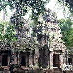 柬普寨(Cambodia)暹粒 吳哥窟塔普倫寺(Ta Prohm)