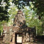 柬普寨(Cambodia)暹粒 吳哥窟塔松將軍廟(Ta Som) 與涅槃(Neak Pean)