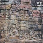 柬普寨(Cambodia)暹粒 吳哥窟鬥象台(Elephant Terrace)與癲王台(Leper King's Terrace)