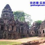 柬普寨(Cambodia)暹粒 吳哥窟塔瑪儂寺(Thommanon)、周薩神廟(Chau Say)與勝利之門(Victory Gate)
