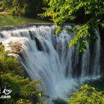 台北旅遊熱門景點 平溪十分瀑布(Shihfen Waterfall)