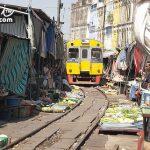 曼谷旅遊景點推薦 美功鐵道市場(Maeklong Railway Market  ตลาดแม่กลอง)