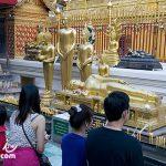 清邁最有名的佛寺 素帖寺 / 雙龍寺(Phra That Doi Suthep Temple)