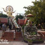 蘇美島旅遊(Samui Travel)景點 大佛寺Wat Phra Yai與彩色廟Wat Plai Laem