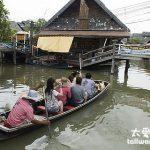 泰國芭達雅旅遊景點推薦 四方水上市場Pattaya Floating Market