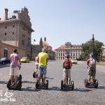 捷克布拉格旅遊最推薦的活動 騎著Segway逛大街