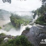 南美冒險旅程之十三 伊瓜蘇瀑布的全貌