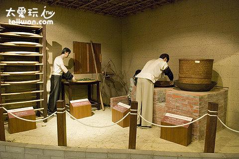 傳統製茶過程