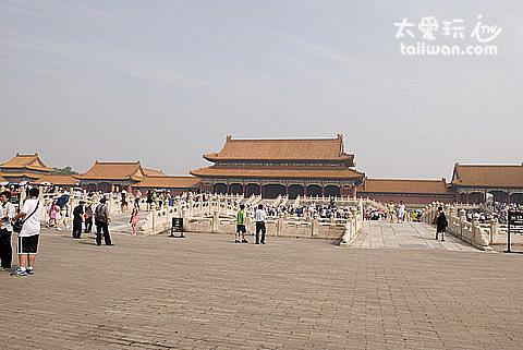 紫禁城的規模龐大,氣勢非凡
