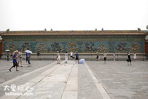 紫禁城九龍壁