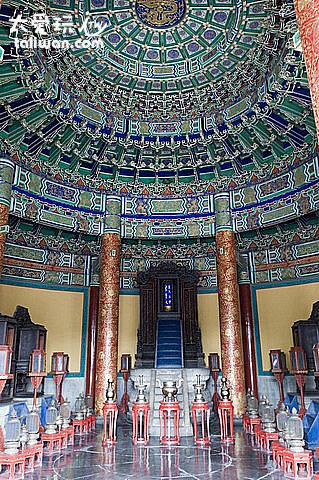 皇穹宇是放置歷代皇帝牌位的地方