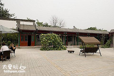 名勝酒店是新蓋的傳統建築