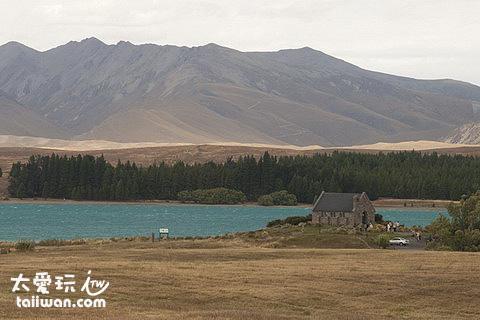 蒂卡波湖景