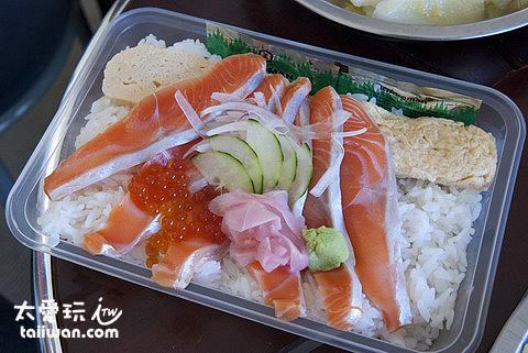 Kohan湖畔餐廳鮭魚蓋飯