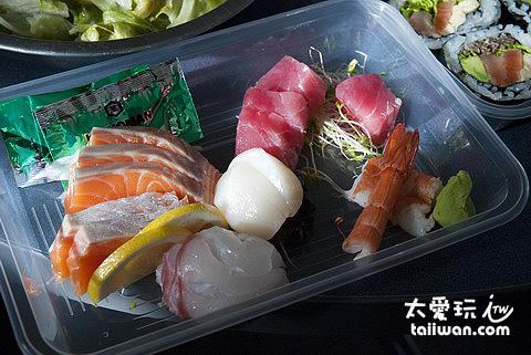 Kohan湖畔餐廳綜合生魚片