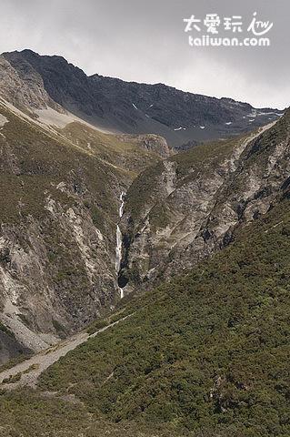 奇異的冰河山谷