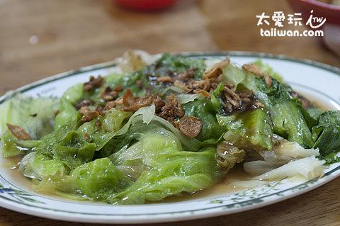 盛發肉骨茶 - 油菜