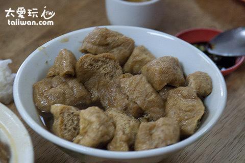 盛發肉骨茶 - 油豆腐