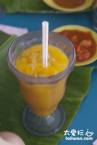 卡娜咖哩屋餐室 - 芒果汁OK