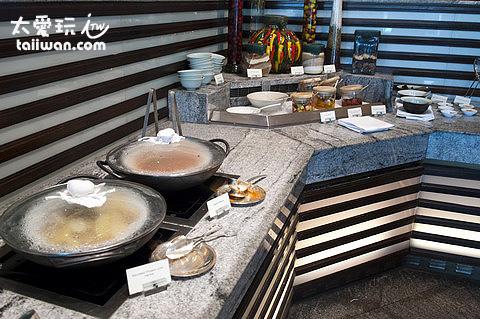 半島酒店的早餐熟食區