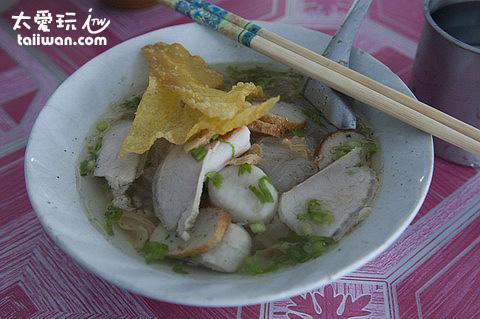 美味的泰國米粉湯