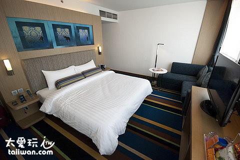 aloft Hotel房間