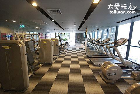 aloft Hotel健身房