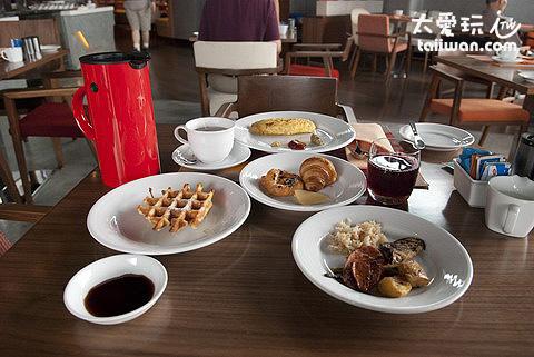 aloft Hotel早餐