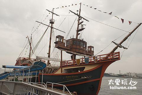 帆船型觀光船聖馬利亞號