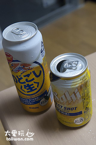 吃消夜喝啤酒囉