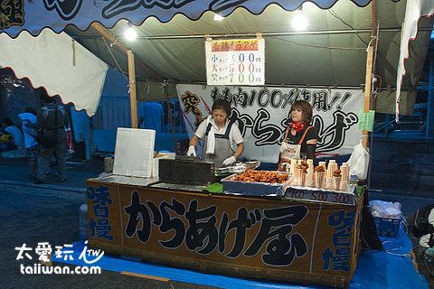 祇園祭攤販