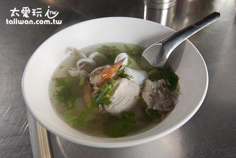 海鮮湯麵50B