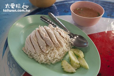 海南雞飯早餐