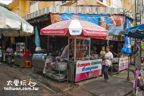 菜市場口的好吃餐廳