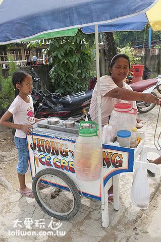 賣冰淇淋喔