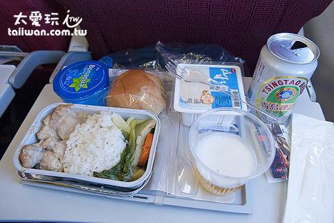 飛機餐還不錯吃