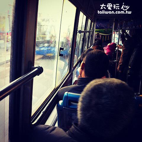 當個在地人搭公交車