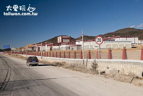 藏族風格的建築