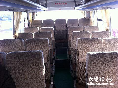 巴士內裝還不錯