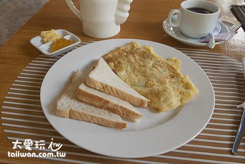 有點貴但還不錯的早餐
