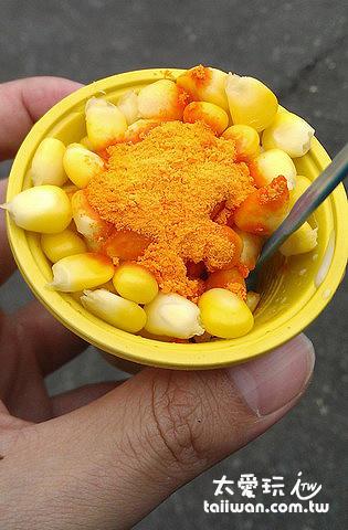 水煮玉米粒