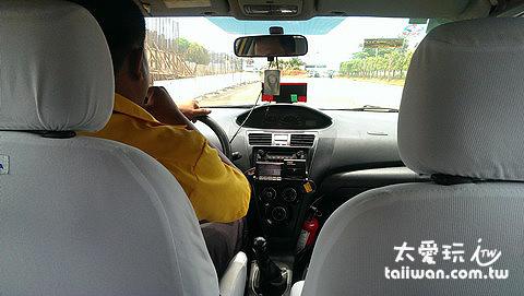 搭計程車也有點小緊張