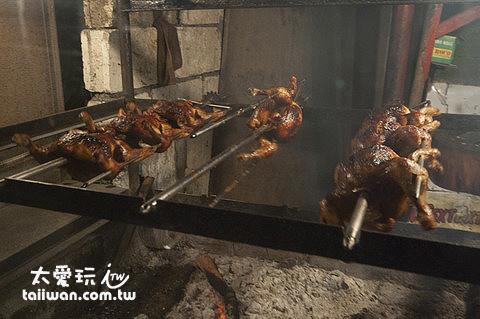 烤雞晚餐1隻150P
