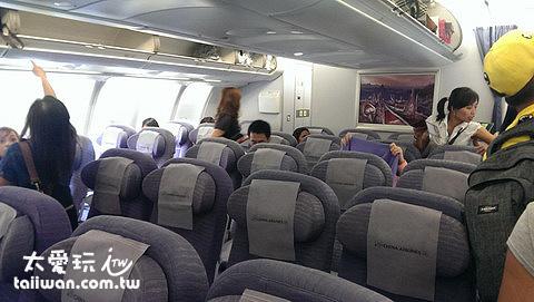 上飛機囉~