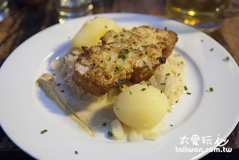 非常傳統的德國菜