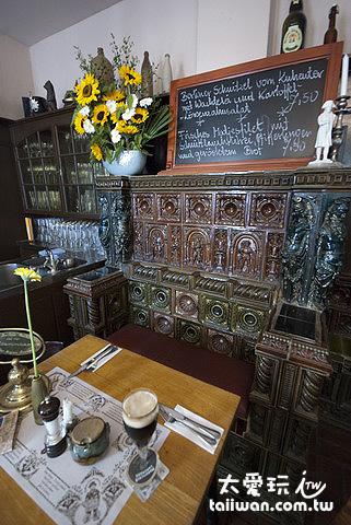 拿破崙在這個位置上用過餐