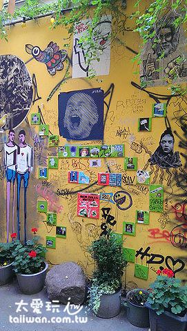塗鴉的精神-藝術、叛逆與Kuso全都發揮出來了